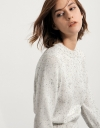 Ribbed Sweater In Multicoloured Yarn