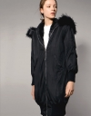 Anorak Jacket With Detachable Faux Fur Lining