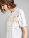 Placement Lace Front Tee