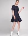 Jacquard A-Line Dress