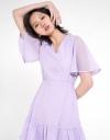 Mesh A-Line Dress