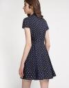 Multicolored Polka-Dot Dress