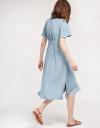 Shirt Dress With Smock Waist