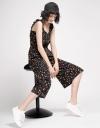 Strappy Floral Wide-Leg Jumpsuit