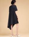 Asymmetric Oversized Shift Dress