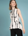 Sleeveless Blouse With Tied Neck