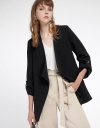 Blazer With Decorative Pocket Front
