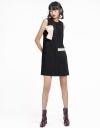 Color Block Ribbed Shift Dress