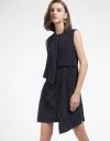 Sleeveless Dress With Asymmetric Hem