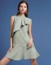 Ruffled Dress With Flouncy Hem