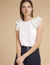 Ruffled Blouse With Layered Detail
