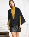 Asymmetric Oversized Cape