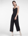 Strappy Wide-Leg Jumpsuit With Pockets