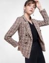 Wool-Blend Tweed Blazer