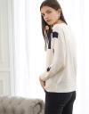 Crew Neck Printed Sweater