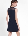 Shift Dress With Embroidered Detail