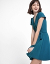 A-Line Dress With Folded Detail