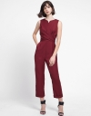 Sleeveless Jumpsuit With Tied Waist