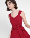 Strappy Midi Dress With Belt