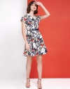 Floral Printed A-Line Dress