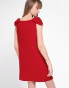 Shift Dress With Bow Detailing