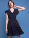 A-Line Dress With Gathered Detailing