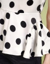 Sleeveless Polka Dotted Top