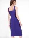 Strappy Midi Dress With Split Hem