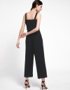 Strappy Scalloped Wide-Leg Jumpsuit