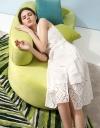 Sleeveless Midi Dress With Embroidered Hem