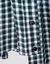 Sleeveless Checked Midi Dress