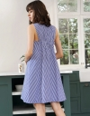 Shift Dress With Gathered Back