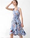 Floral Printed Wrap Dress