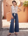 High Waist Wide-Leg Pants