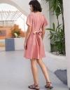 Petal Sleeved Shift Dress