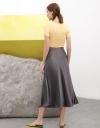 Tied Midi Fluid Skirt