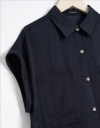 Capped Sleeved Shirt