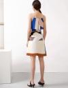 Strappy Geometric Dress