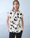 Sleeveless Printed Shirt