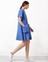 Dress With Drape Pockets