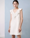 Ruffle Dress With Lace