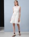 Stripe Organza Dress