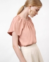 Top With Flare Sleeve