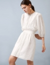 LIMITED EDITION Pleated Lace Sleeve Dress
