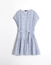 Fil Coupé Shirt Dress