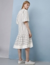 Midi Stripe Dress