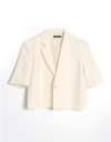 Short Sleeve Crop Jacket