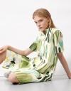 Artisanal Print Shirt Dress