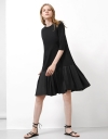 Long Sleeve Relaxed Gather Dress