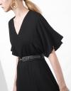 Drape Knit Dress